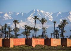«Марокканская Швейцария»: зима — она и в Африке зима!